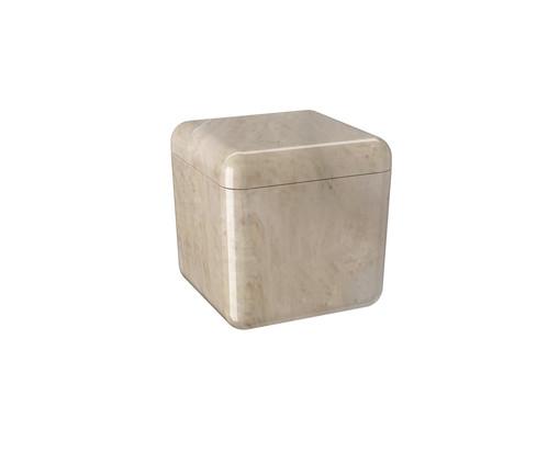 Porta-Algodão e Cotonetes Louis - Marmore, Marmore | WestwingNow
