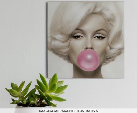 Placa de Madeira Estampada Bubble Gum | WestwingNow