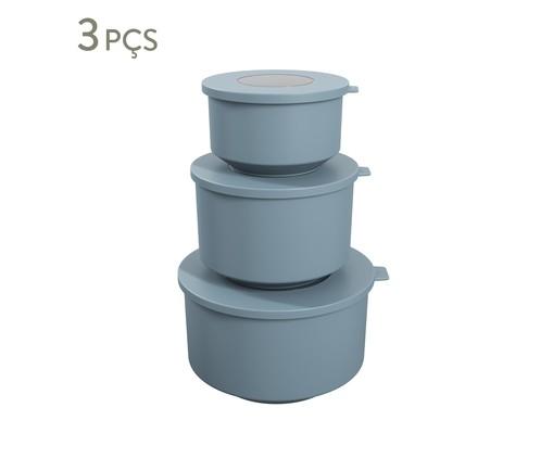 Jogo de Potes  Amos - Azul, Azul   WestwingNow