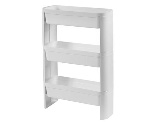 Organizador Nero Slim 3 Andares - Branco, Branco | WestwingNow
