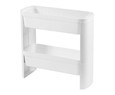 Organizador Nero Slim 2 Andares - Branco | WestwingNow