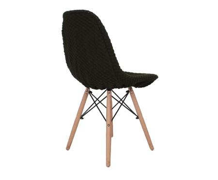 Capa para Cadeira Eames em Tricot Eiffel Charles - Verde Militar | WestwingNow