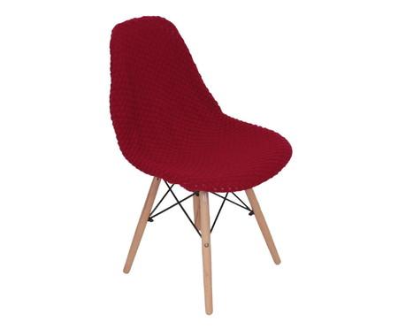 Capa para Cadeira Eames em Tricot Eiffel Charles - Vermelho | WestwingNow