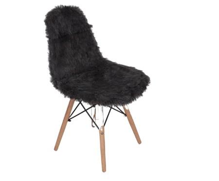 Capa para Cadeira Eames em Pelucia Eiffel Charles - Cinza | WestwingNow