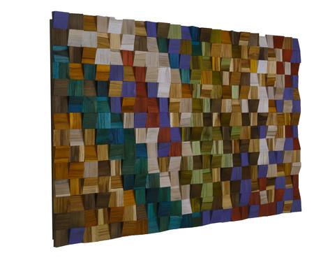 Quadro de Madeira 3D - Vortex | WestwingNow