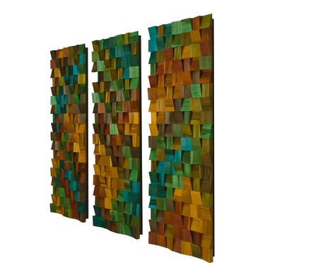 Jogo de Quadros de Madeira 3D - Prophecya | WestwingNow