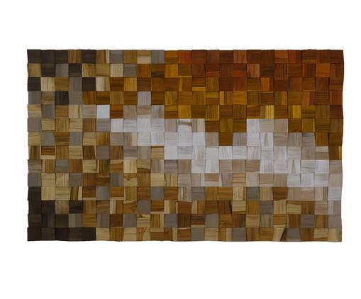 Quadro de Madeira 3D Zenith Colorido - 115x70cm, colorido | WestwingNow