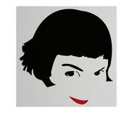 Placa de Madeira Estampada Amélie | WestwingNow