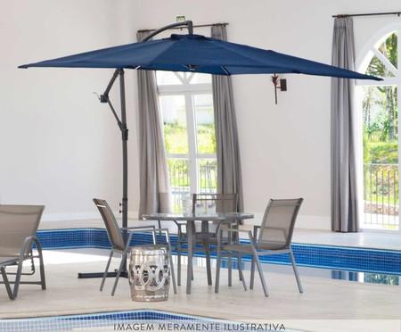 Ombrelone Miami - Azul Marinho | WestwingNow