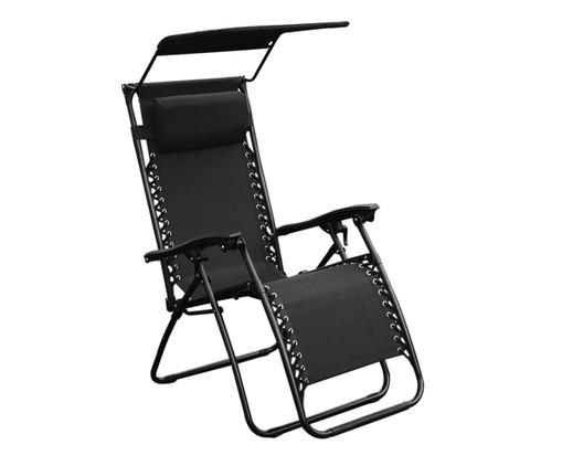 Cadeira Out Aslan Tapa Sol - Preta, preto | WestwingNow