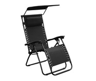 Cadeira Out Aslan Tapa Sol - Preta | WestwingNow