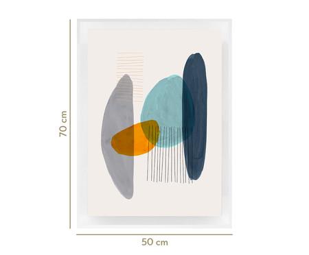 Quadro com Vidro Kay - 70x50   WestwingNow