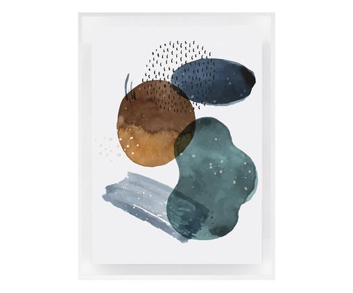Quadro com Vidro Marci - 70x50, colorido | WestwingNow