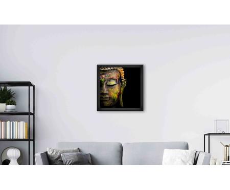 Quadro com Vidro Buda - 70x70 | WestwingNow