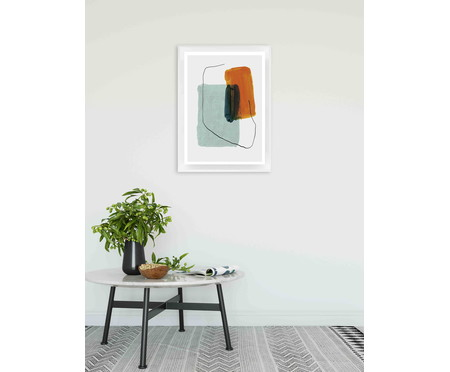 Quadro com Vidro Elinor - 70x50 | WestwingNow