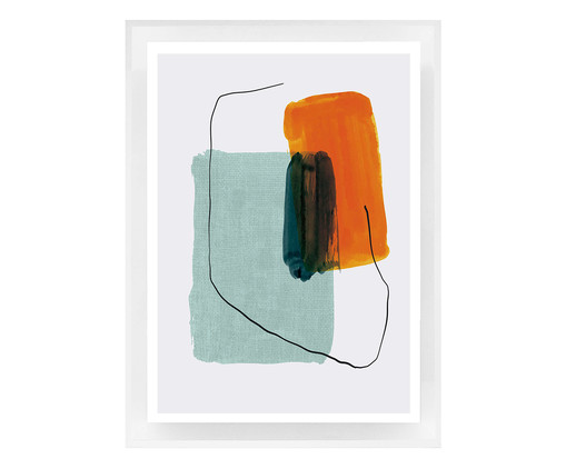 Quadro com Vidro Elinor - 70x50, colorido | WestwingNow