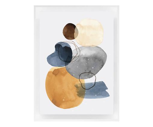 Quadro com Vidro Rita - 70x50cm, colorido | WestwingNow