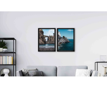 Quadro com Vidro Juliana - 70x50cm | WestwingNow