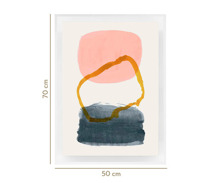 Quadro com Vidro Maryellen - 70x50cm | WestwingNow