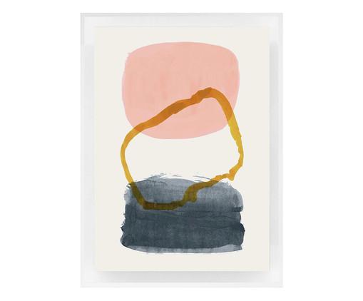 Quadro com Vidro Maryellen - 70x50cm, colorido | WestwingNow