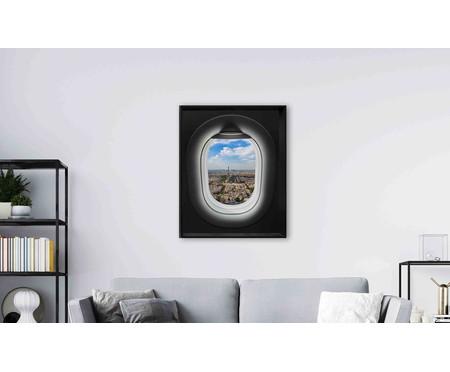 Quadro com Vidro Janela de Avião l - 100x80cm | WestwingNow