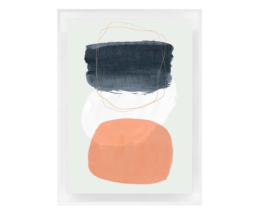 Quadro com Vidro Ella - 70x50cm, colorido   WestwingNow
