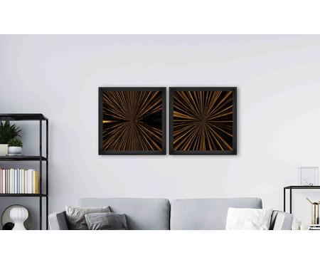 Quadro com Vidro Gail - 70x70cm | WestwingNow