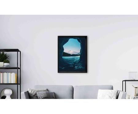 Quadro com Vidro Mar - 90x70 | WestwingNow