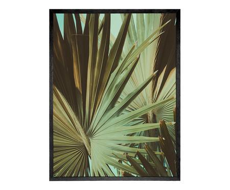 Quadro com Vidro Folhas - 60x80 | WestwingNow