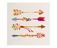 Placa de Madeira Estampada Flechas | WestwingNow