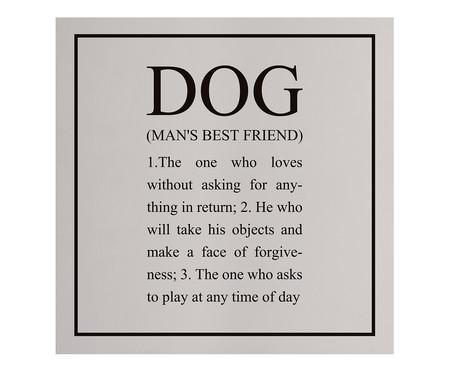 Placa de Madeira Estampada Dog | WestwingNow