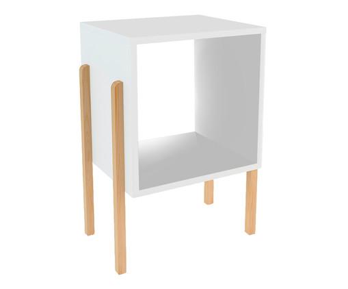 Mesa de Cabeceira Milazzo - Branca, branco | WestwingNow