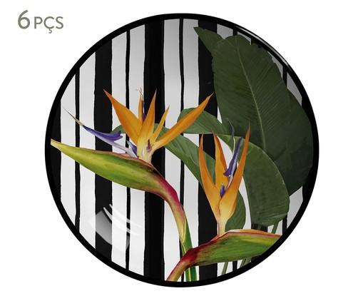 Jogo de Bowls em Cerâmica Coup Tripyc 06 Pessoas - Colorido, Colorido | WestwingNow