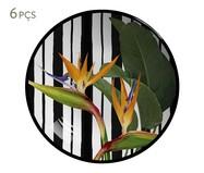 Jogo de Bowls em Cerâmica Coup Tripyc 06 Pessoas - Colorido | WestwingNow