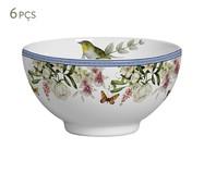 Jogo de Bowls em Cerâmica Corin 06 Pessoas - Colorido | WestwingNow