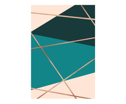 Placa de Madeira Estampada Tissot, Colorido | WestwingNow