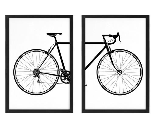 Jogo de Quadros Bicicleta, Colorido | WestwingNow