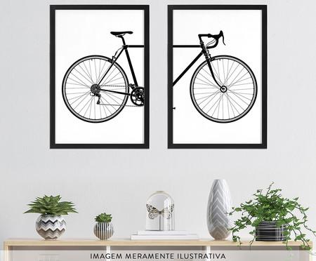 Jogo de Quadros Bicicleta | WestwingNow