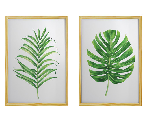 Jogo de Quadros Plantas, Colorido | WestwingNow