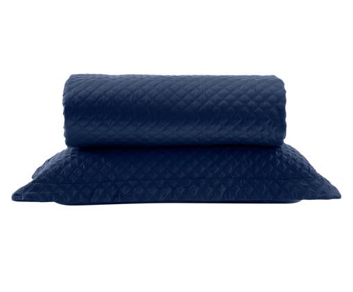 Jogo de Cobre-Leito Mosaico - Marinho, Azul Marinho | WestwingNow