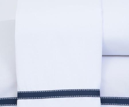 Jogo de Lençol Clean Azul Marinho - 200 Fios | WestwingNow