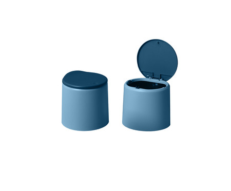 Lixeira Dévoué Azul | WestwingNow