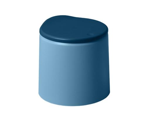 Lixeira Dévoué Azul, Azul   WestwingNow
