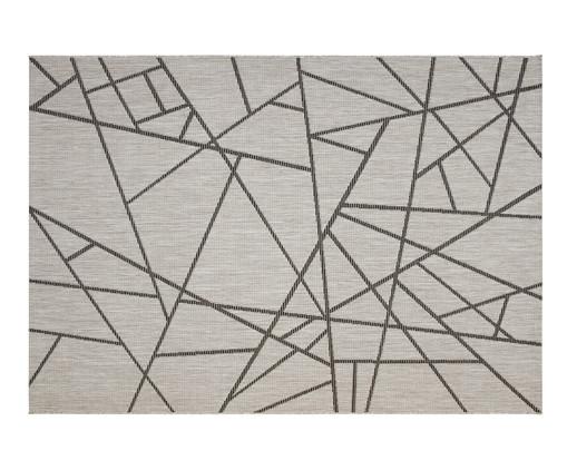 Tapete Geométrico Vitale Lina - Cinza, Cinza | WestwingNow
