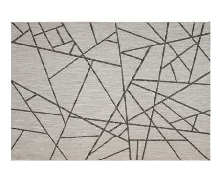 Tapete Geométrico Vitale Lina - Cinza | WestwingNow