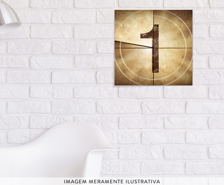 Placa de Madeira Estampada One | WestwingNow