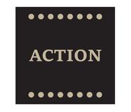 Placa de Madeira Estampada Action | WestwingNow