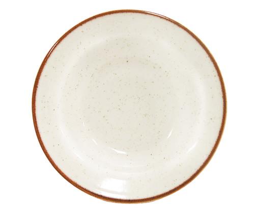 Prato Fundo em Porcelana Artisan - Branco, Branco | WestwingNow