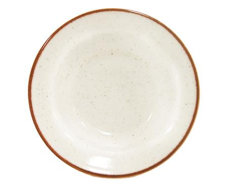 Prato Fundo em Porcelana Artisan - Blanc | WestwingNow