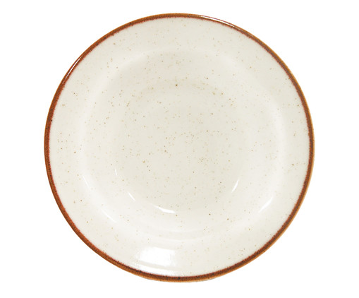 Prato Fundo em Porcelana Artisan - Branco, Branco   WestwingNow